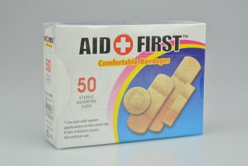 Sada 50ks náplastí AID FIRST Comfortable